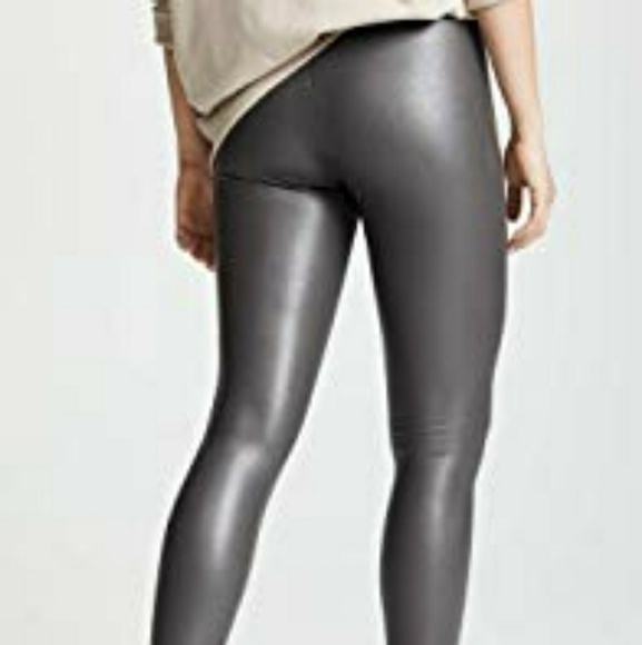 great quality incredible prices new images of Commando Control Faux Leather Leggings ,Size L